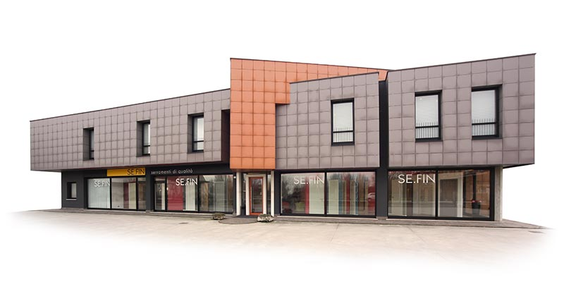 La sede aziendale di Sefin a Legnago